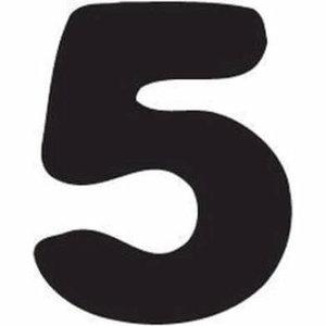 Thule Yepp abc cijfer 5
