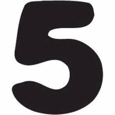 abc cijfer 5