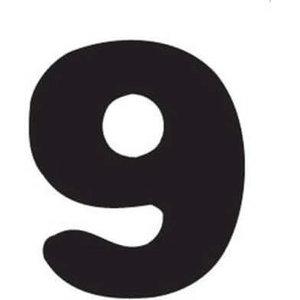 Thule Yepp abc cijfer 9