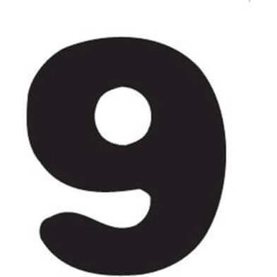 abc cijfer 9