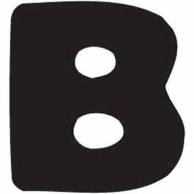 abc letter B