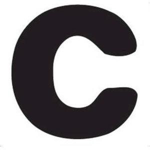 Thule Yepp abc letter C