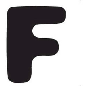 Thule Yepp abc letter F