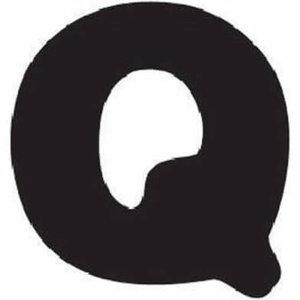 Thule Yepp abc letter Q