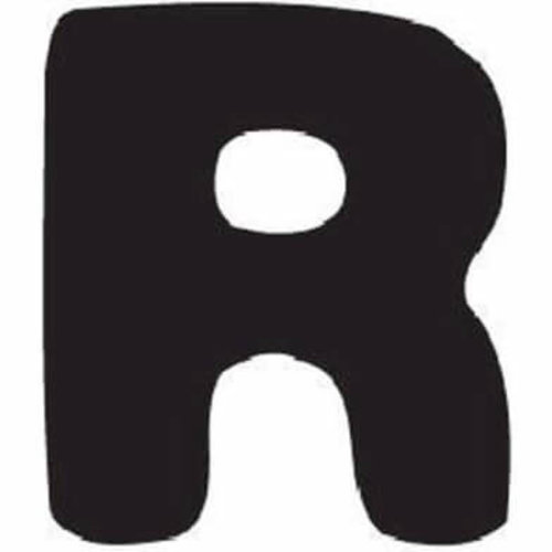 Thule Yepp abc letter R
