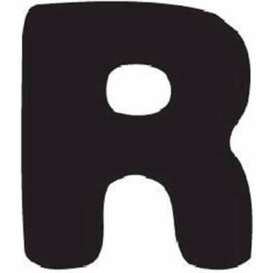 abc letter R
