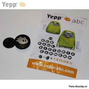 Thule Yepp abc letter H
