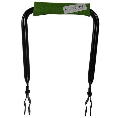 Hooodie Rugsteun zwart met Olive Solid rugkussentje