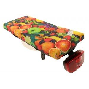 Hooodie Bagagedragerkussen Cushie Fruit
