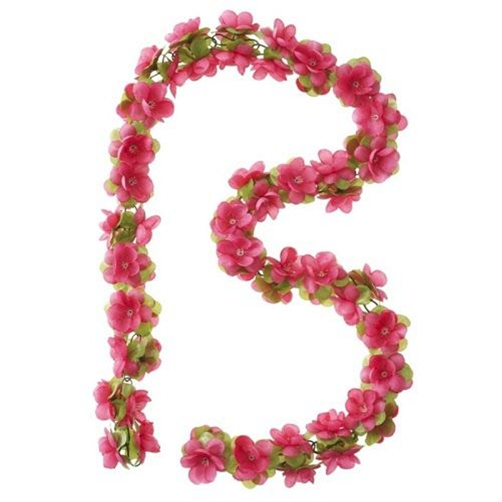 Bloemenslinger Garland Rozen Fuchsia