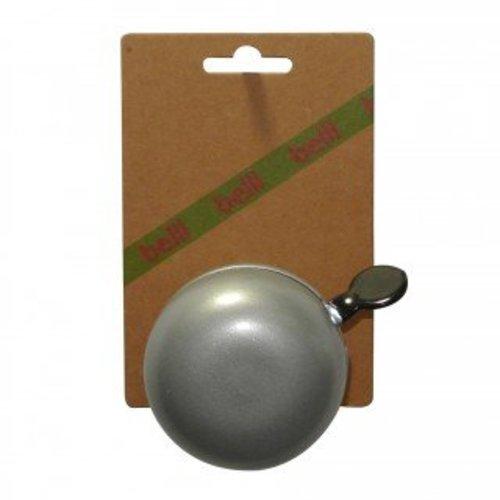 Belll Fietsbel Ding Dong 60 mm zilver
