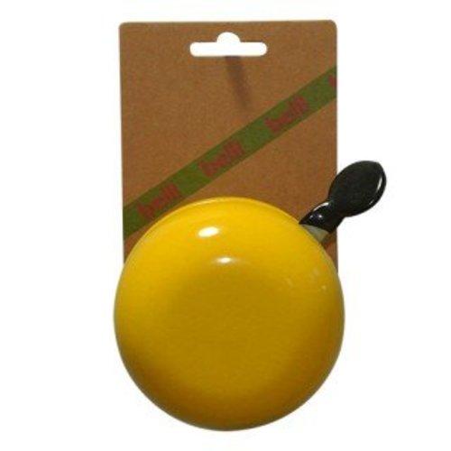 Belll Fietsbel Ding Dong 80 mm geel