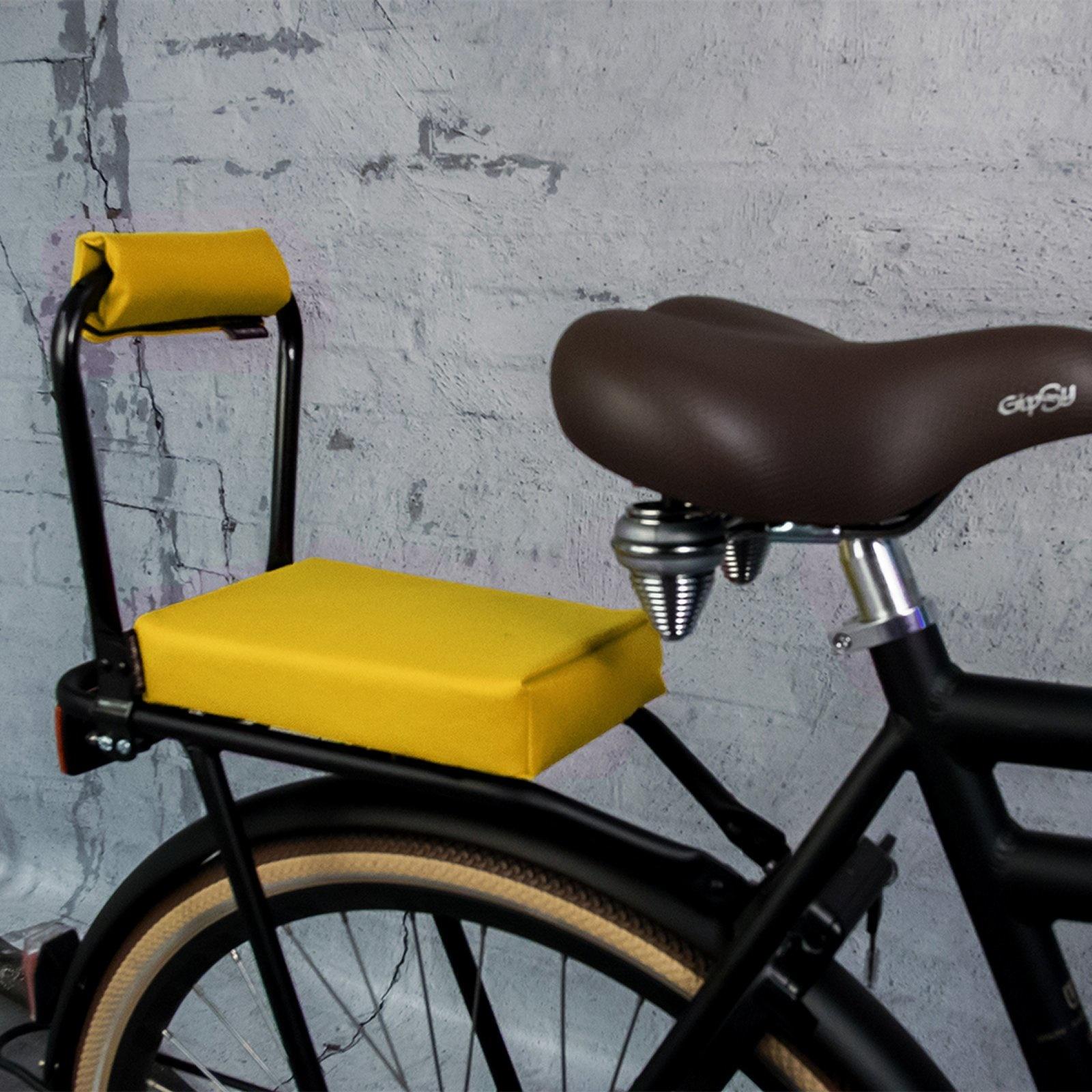 De ohmiomine fietskussens zijn een comfortabele manier om uw kind op de bagagedrager te vervoeren. gemaakt ...