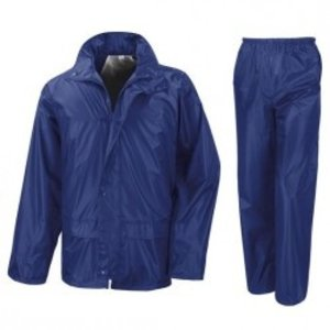 Hooodie Regenpak Royal  Blauw