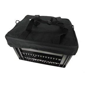Hooodie Fietskrattas Crate voor Melkkrat Zwart