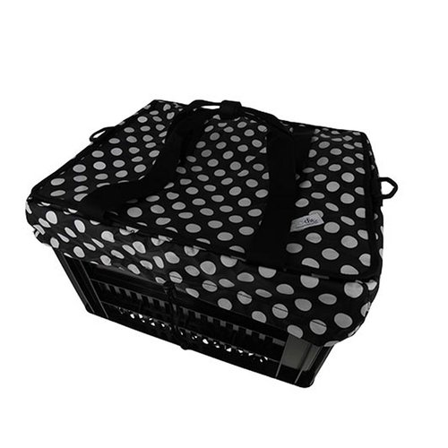 Hooodie Fietskrattas Crate voor Melkkrat Small White Dots