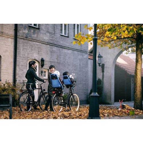 Thule Yepp Original Maxi Achterzitje Bruin inclusief Zadelbevestiging Fietsstoeltje