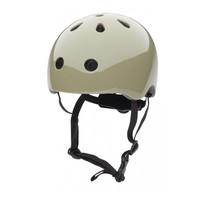 Babyhelm / Kinderhelm XS Misty Green plain