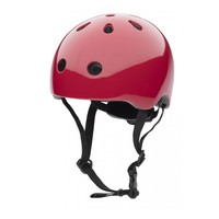 Babyhelm / Kinderhelm XS Ruby Red plain