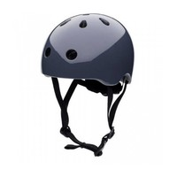 Babyhelm / Kinderhelm XS Graphite Grey plain