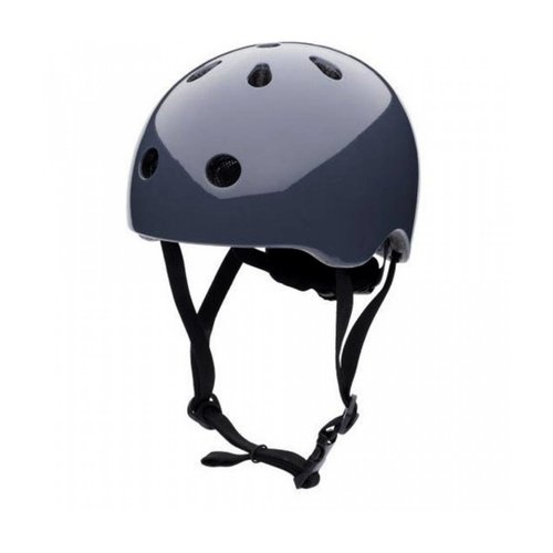 CoCoNuts Babyhelm / Kinderhelm XS Graphite Grey plain