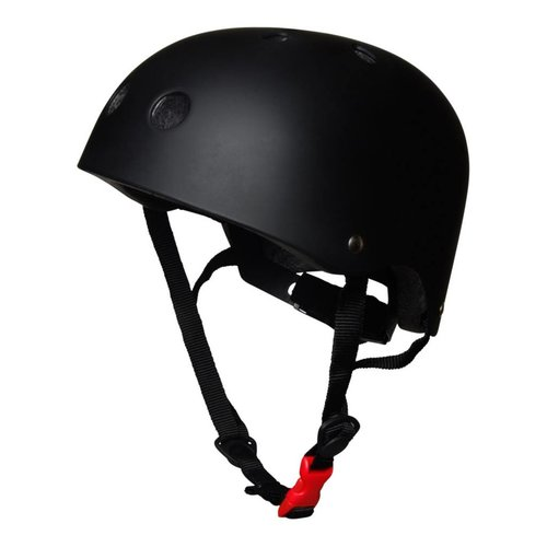 Kiddimoto Kinderhelm Matte Black Small