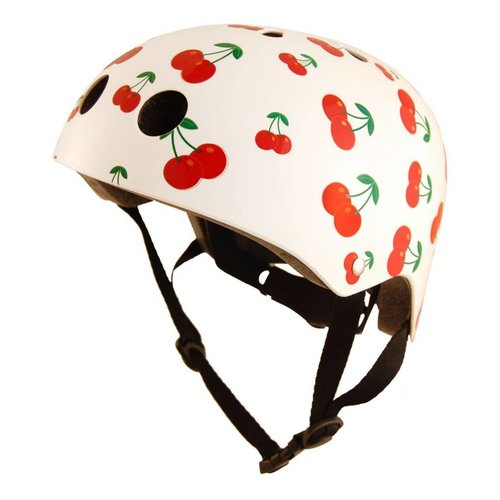 Kiddimoto Kinderhelm Cherry Small