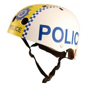 Kiddimoto Kinder Fietshelm Politie Police Medium(53 - 58 cm)
