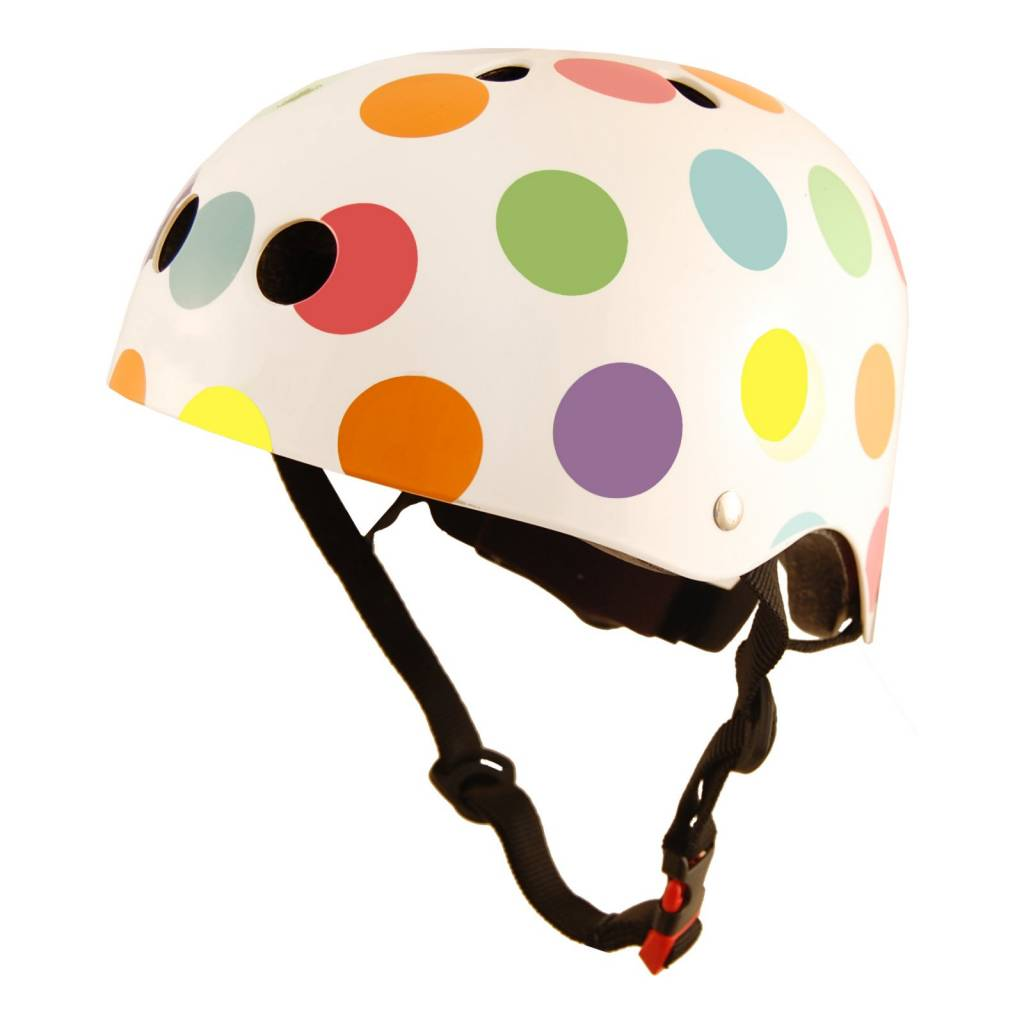 Kinder Fietshelm Pastel Dotty Medium�(53 - 58 cm)