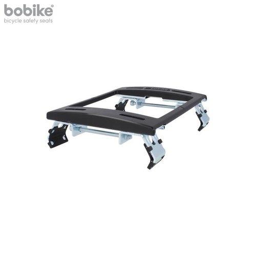 Bobike Maxi Exclusive Plus Urban Black achterstoeltje met Elektrische Fiets Bevestiging