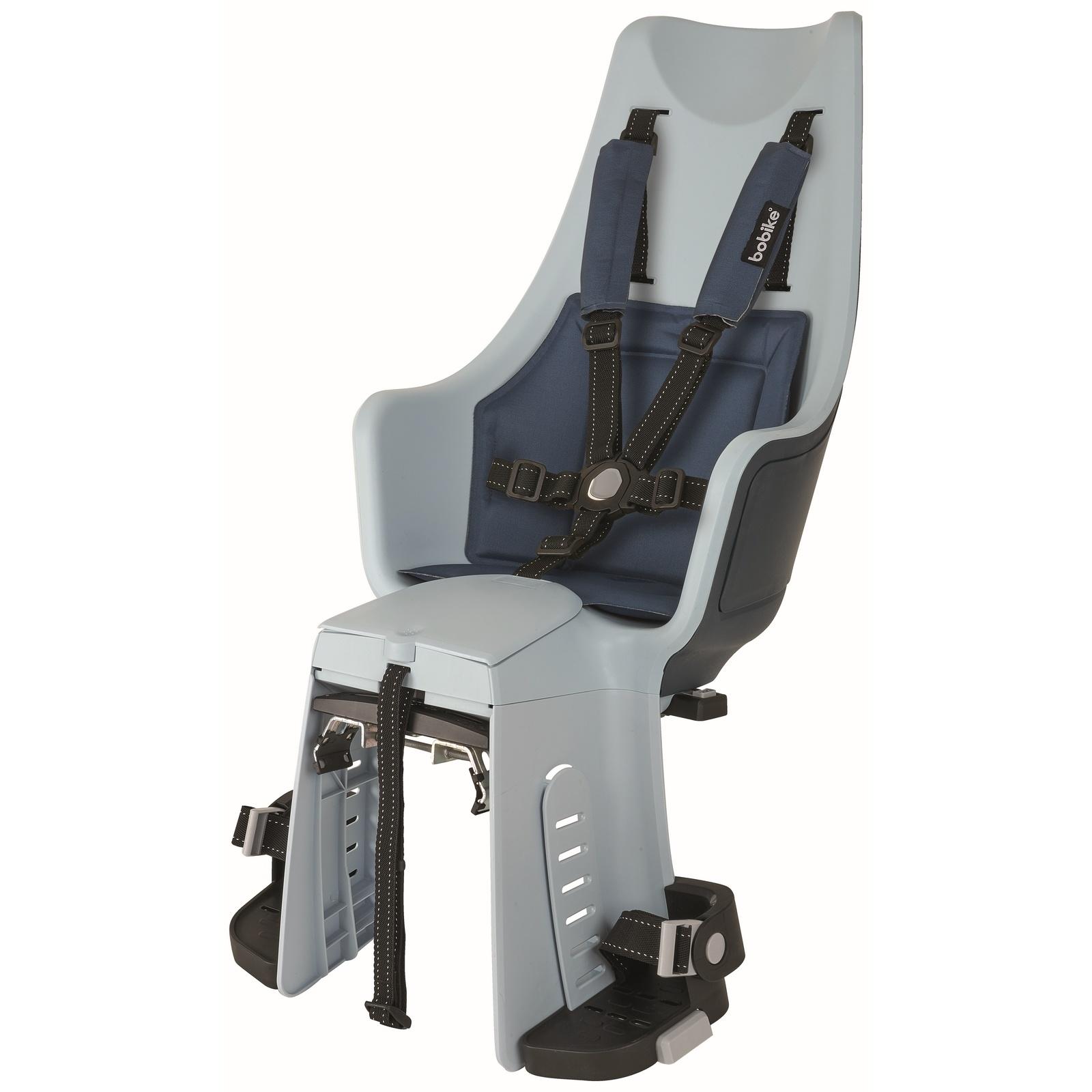 Maxi Exclusive Plus Denim Deluxe achterstoeltje met Elektrische Fiets Bevestiging