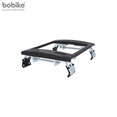 Bobike Maxi Exclusive Plus Tour Urban Black achterstoeltje met Elektrische Fiets Bevestiging