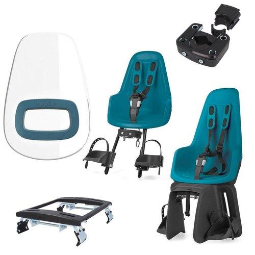 Bobike One Bahama Blue pakket Fietsstoeltjes
