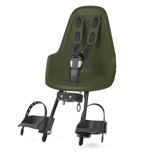Bobike Mini One Olive Green Voorstoeltje