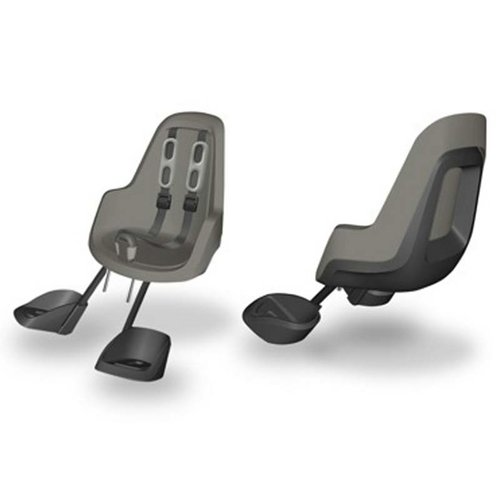 Bobike Mini One Urban Grey Voorstoeltje