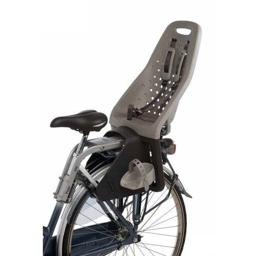 Thule Yepp Original Maxi Achterzitje Zilver inclusief Zadelbevestiging Fietsstoeltje
