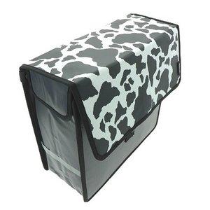 Beck Enkele Shopper Fietstas Cow
