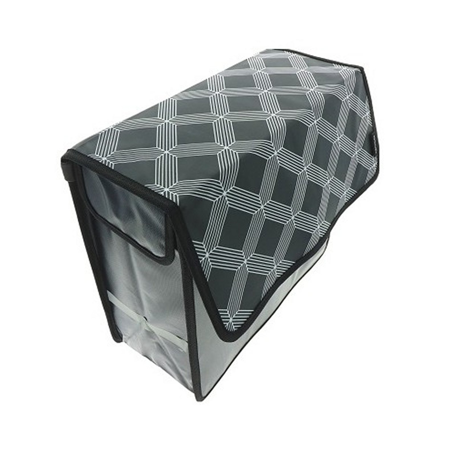Enkele Shopper Fietstas Black Diamonds