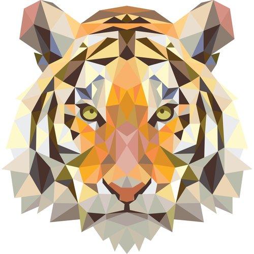 Beck Dubbele Fietstas Small Tiger