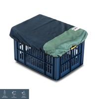 Recycled Fietskrat Hoes Blauw Groen