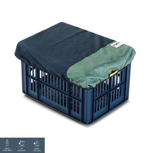 URBAN PROOF Recycled Fietskrat Hoes Blauw Groen