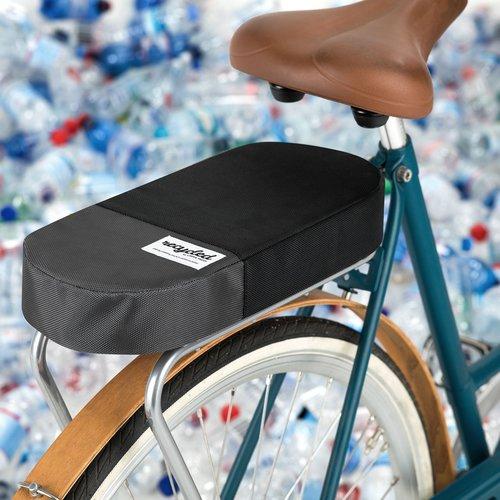 URBAN PROOF Bagagedragerkussen Fietskussen Recycled Zwart Grjis