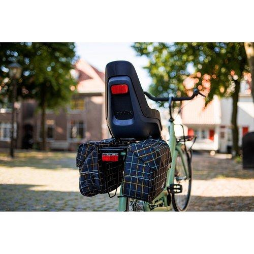 Steco dragerverlenger Tas-Mee Jumbo Zwart E-Bike