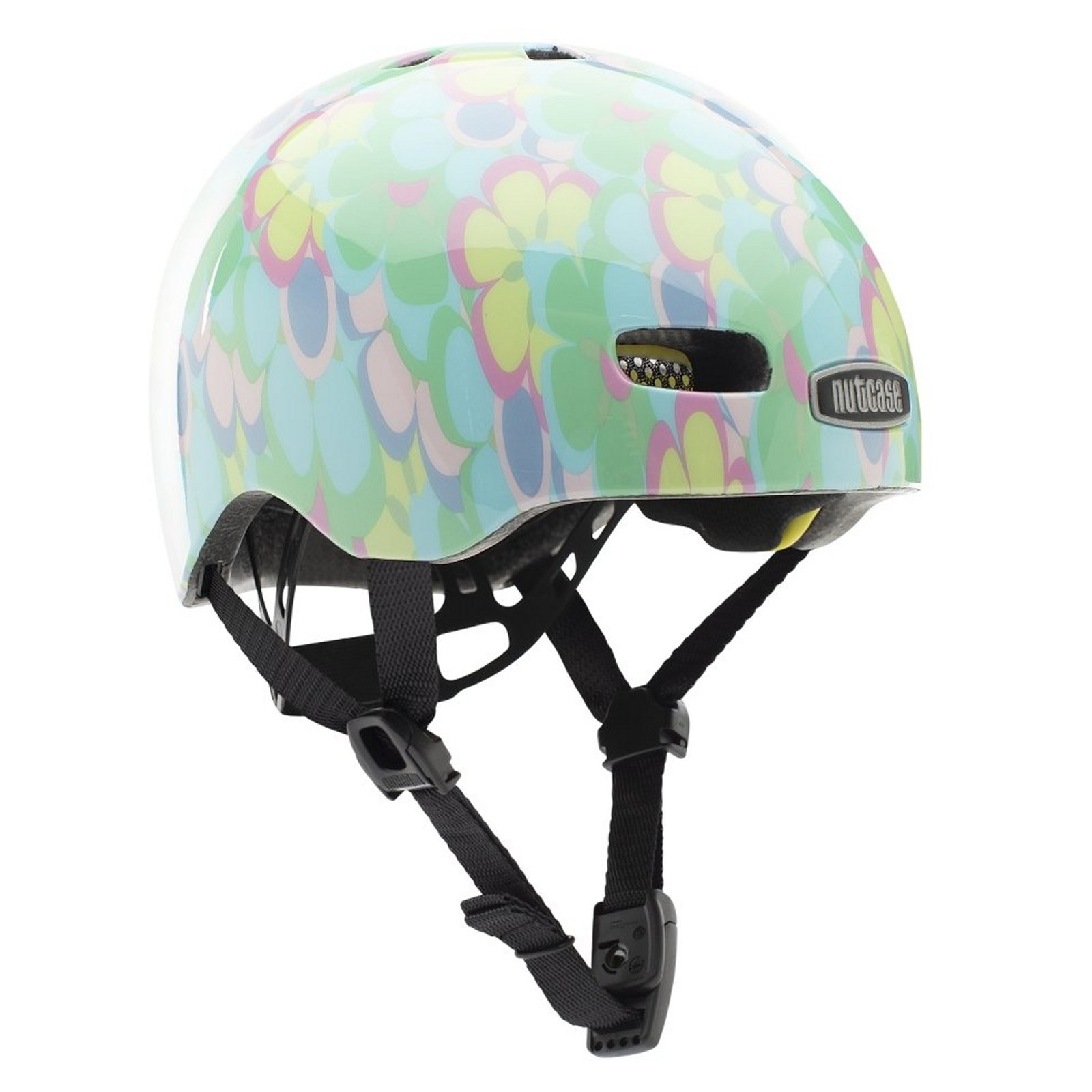Baby Nutty Babyhelm - Fietshelm Petal to Metal Gloss Mips XXS