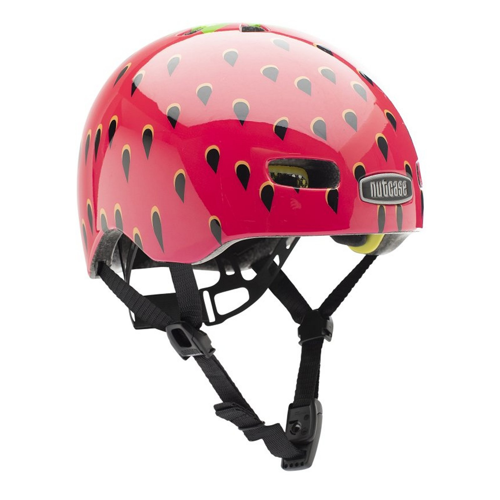 Baby Nutty Babyhelm - Fietshelm Very Berry Gloss Mips XXS