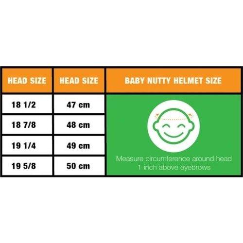 Nutcase Baby Nutty Babyhelm / Fietshelm Petal to Metal Gloss Mips XXS
