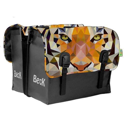 Beck Dubbele Fietstas Big Tiger