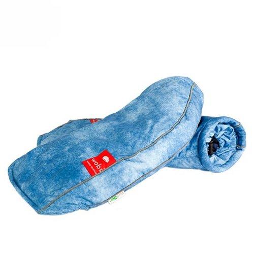 WOBS hand moffen - Jeans