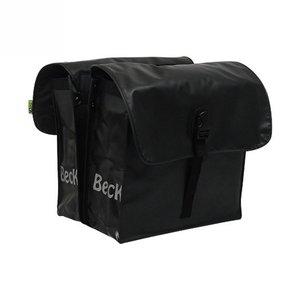 Beck Dubbele Fietstas Small Black