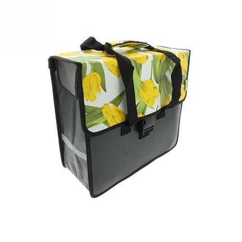 Beck Enkele Shopper Fietstas Tulips Yellow